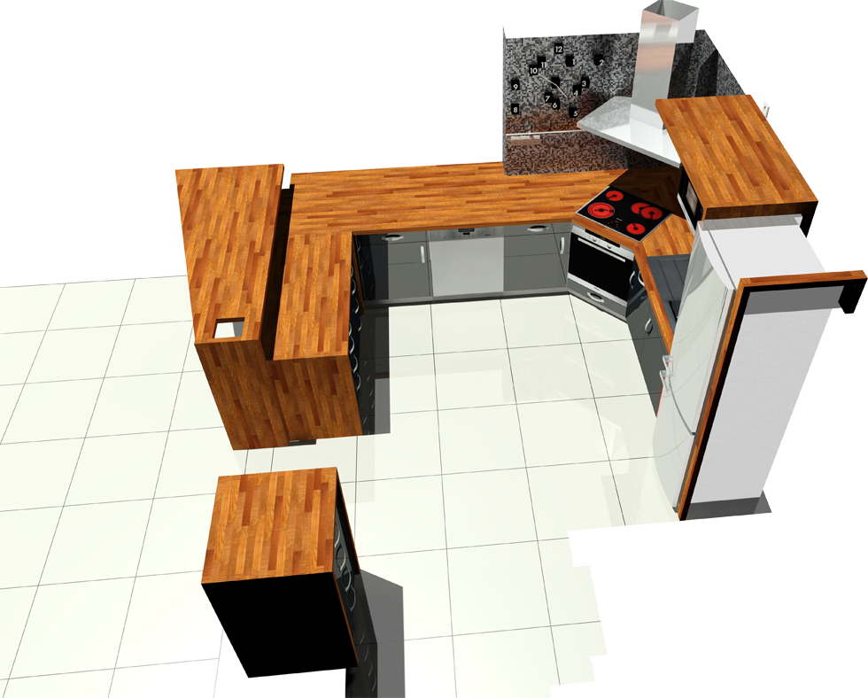 Kitchen design - FH Mistrovice