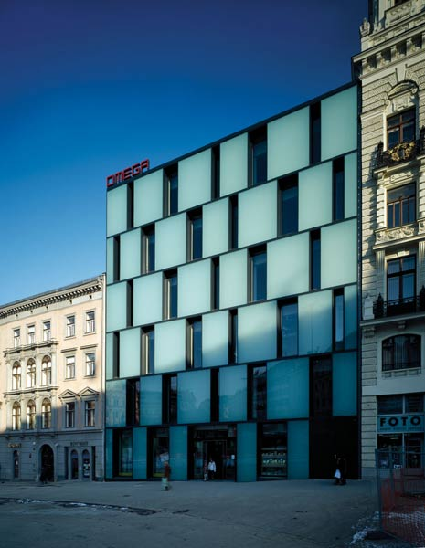 Department store Omega, Svobody sq., Brno (8�)