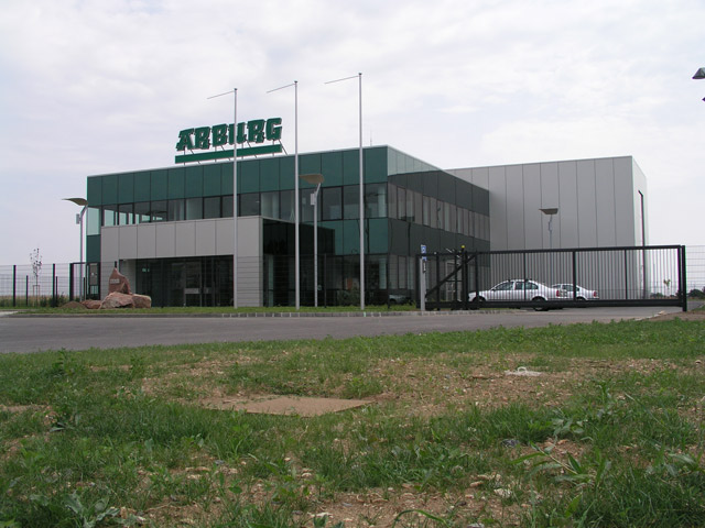 Arburg Technology Center, Brno, Èernovická terasa, interier