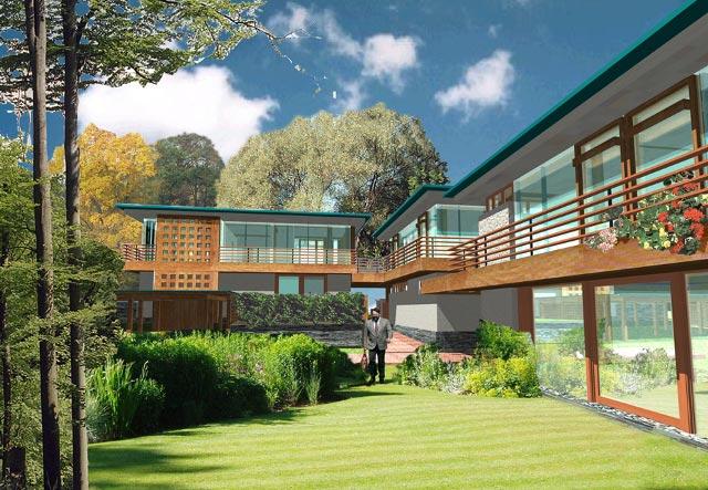 Stbrn Atelier spol. s r.o.: rodinn domy a vily (11): RD DREVNKY